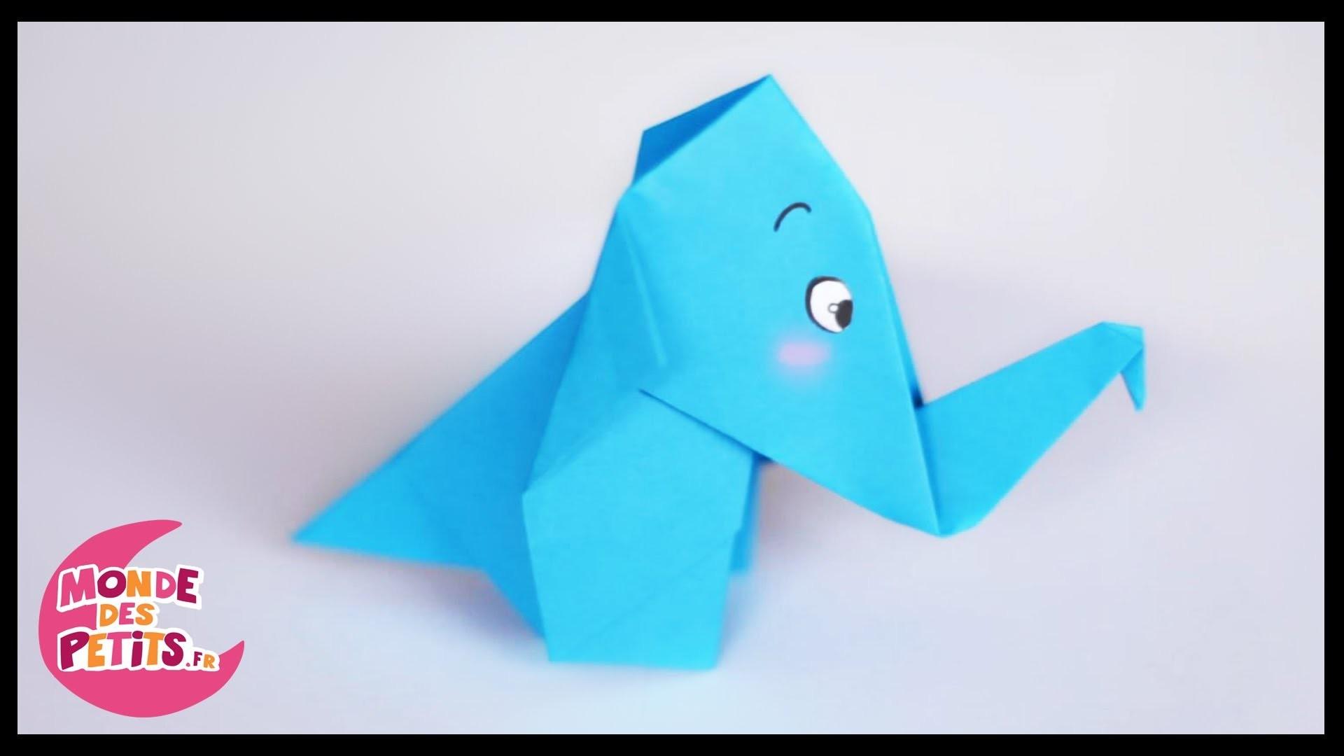 origami lelephant en papier. Black Bedroom Furniture Sets. Home Design Ideas