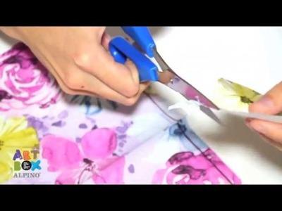Papier Patch - Kit ArtBox Alpino Découpage