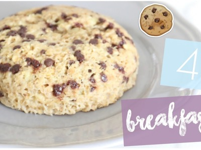 [ Recette n°3 ] : 4 EASY BREAKFASTS !