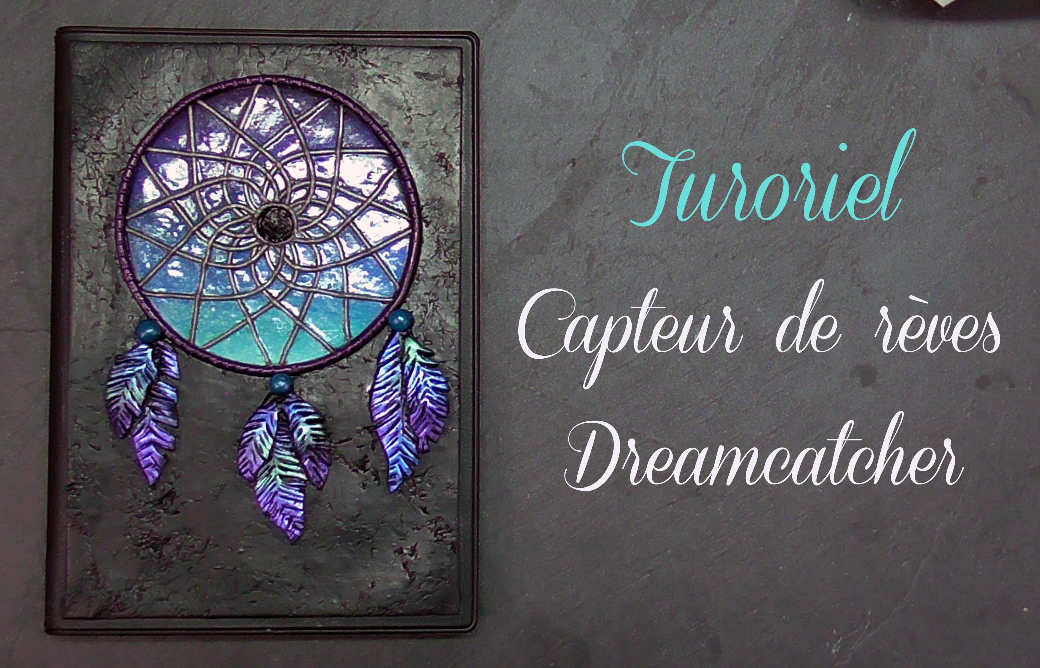 tuto capteur de r ves dreamcatcher polymer clay. Black Bedroom Furniture Sets. Home Design Ideas