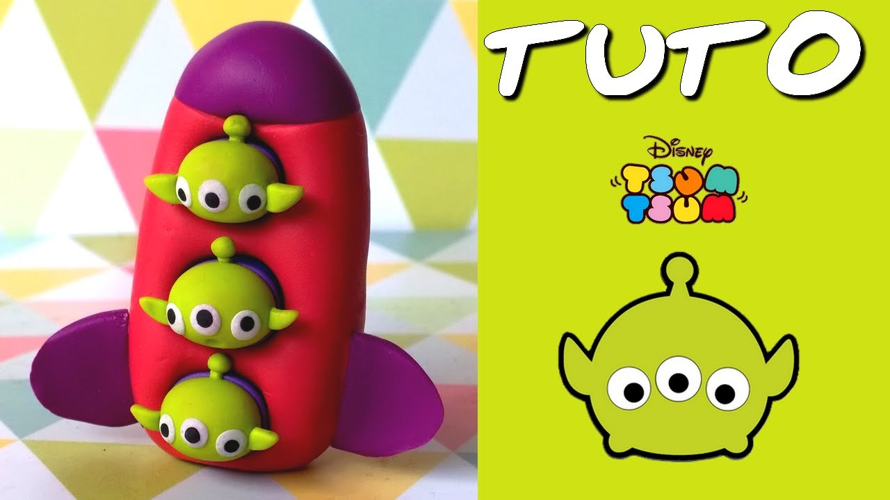 Tuto Fimo Tsum Tsum Aliens De Toy Story