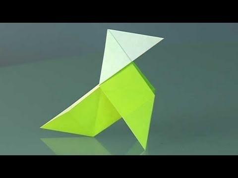 Une cocotte en papier, Comment faire origami