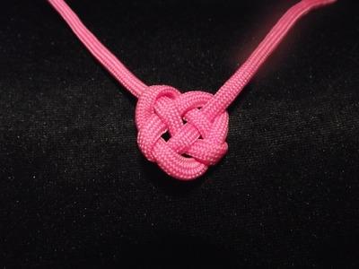 Weavy loops, pendentif coeur