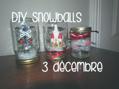 3 DÉCEMBRE | Boules de Noël DIY