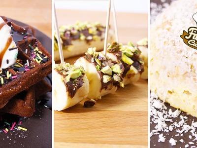 3 recettes pour le petit dej ! Gaufres Brownies, BowlCake et MakiNutella