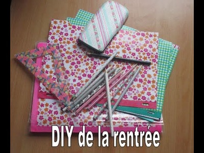 Back to School | 3 DIY pour customiser ses fournitures