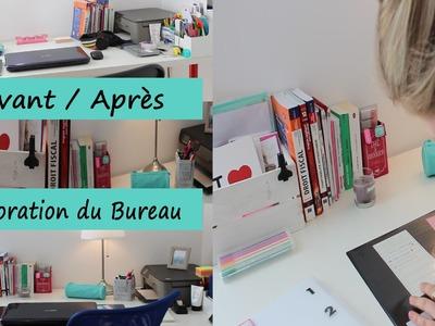 Back To School | Réorganiser son Bureau avec Maison du Monde + Haul de rentrée Hema