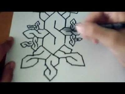 Comment dessiner un S américain multiple