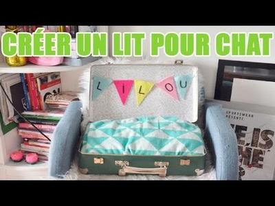 Créer un lit pour chat en recyclant une valise - DIY avec youMAKEfashion