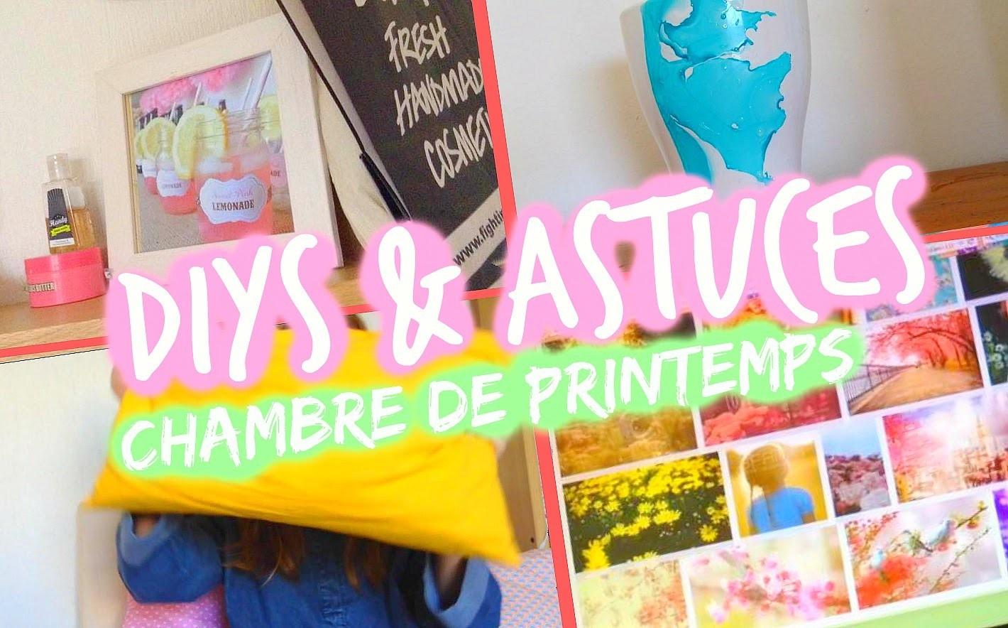 DIY & Astuces : Décorations de Printemps ♡