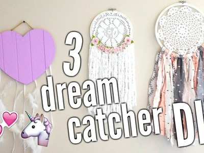 DIY DREAM CATCHER | 3 styles ♡
