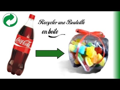 DIY n°9┆Créer une boite à partir d'une bouteille !