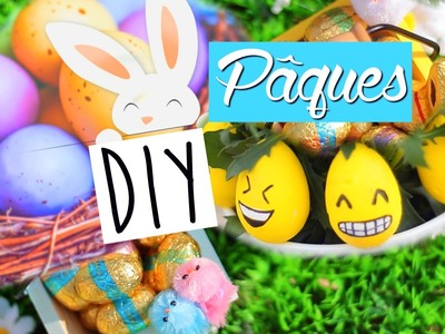 DIY Pâques (français). Easter Room Decor