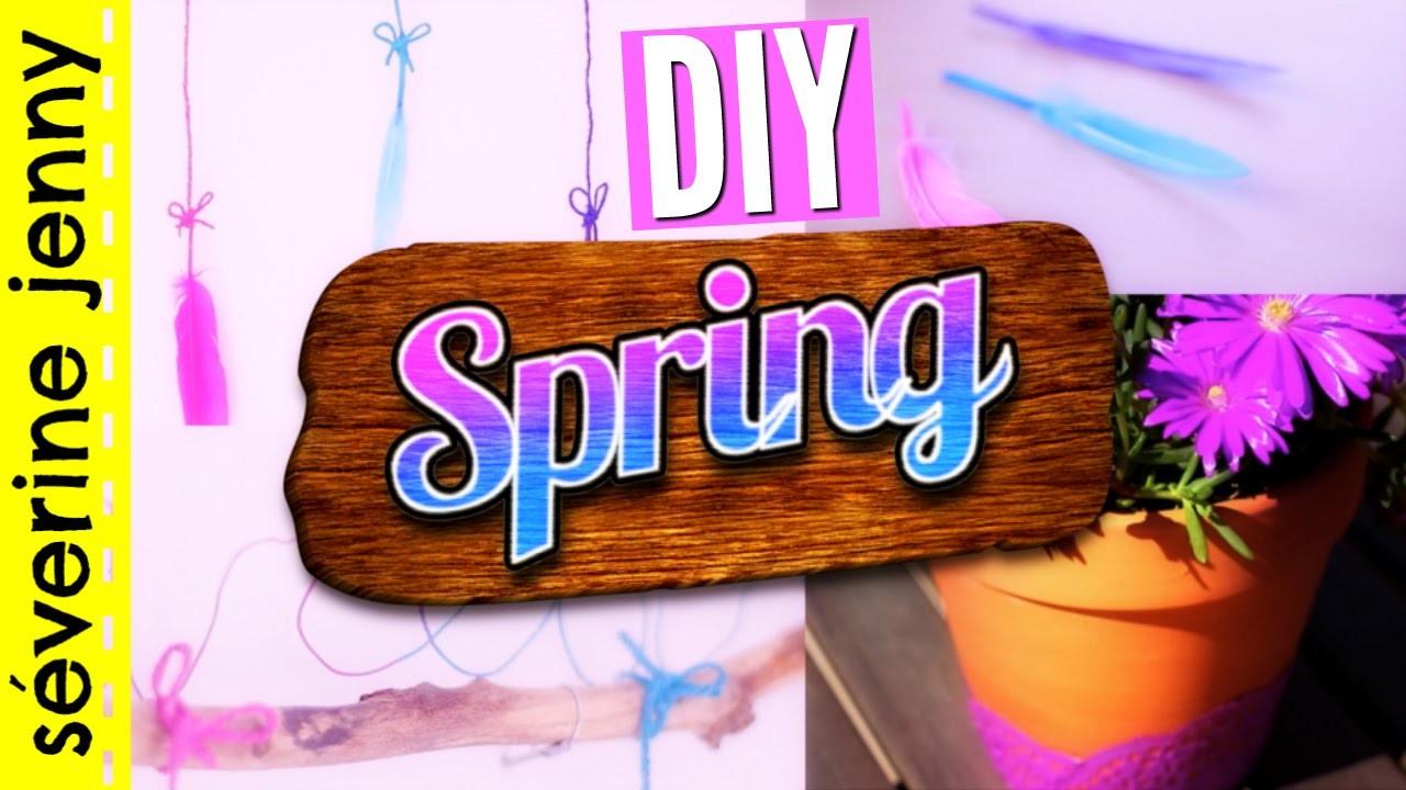 DIY Printemps - Deco Chambre. Spring Room Decor (français)