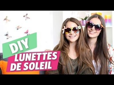 ✿ DIY : Une paire de lunettes de soleil 100% personnalisée par Marine et Danaë ✿