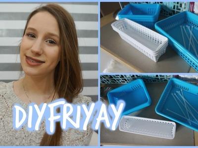 #DIYFRIYAY | Rangement maquillage