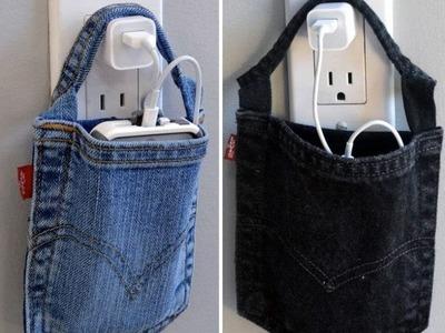 Idées de recyclage jeans