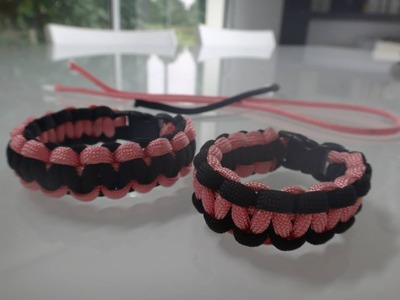 Tuto bracelet paracorde cobra
