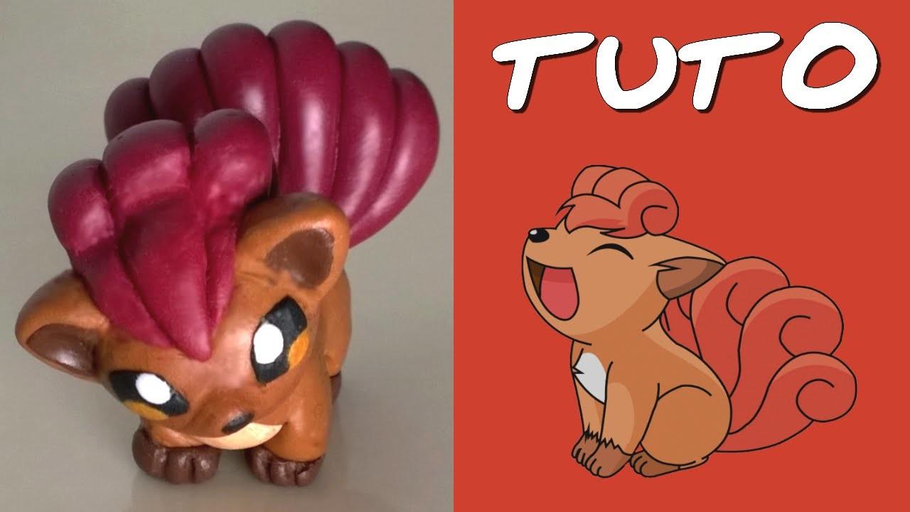 TUTO FIMO | Goupix. Vulpix (de Pokemon)