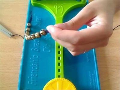 ►►Tutoriel bracelet shamballa ◄◄ LECON N°4