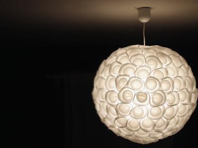 |Tutoriel| CUSTOMISER UNE LAMPE EN PAPIER avec Catherine BRUN