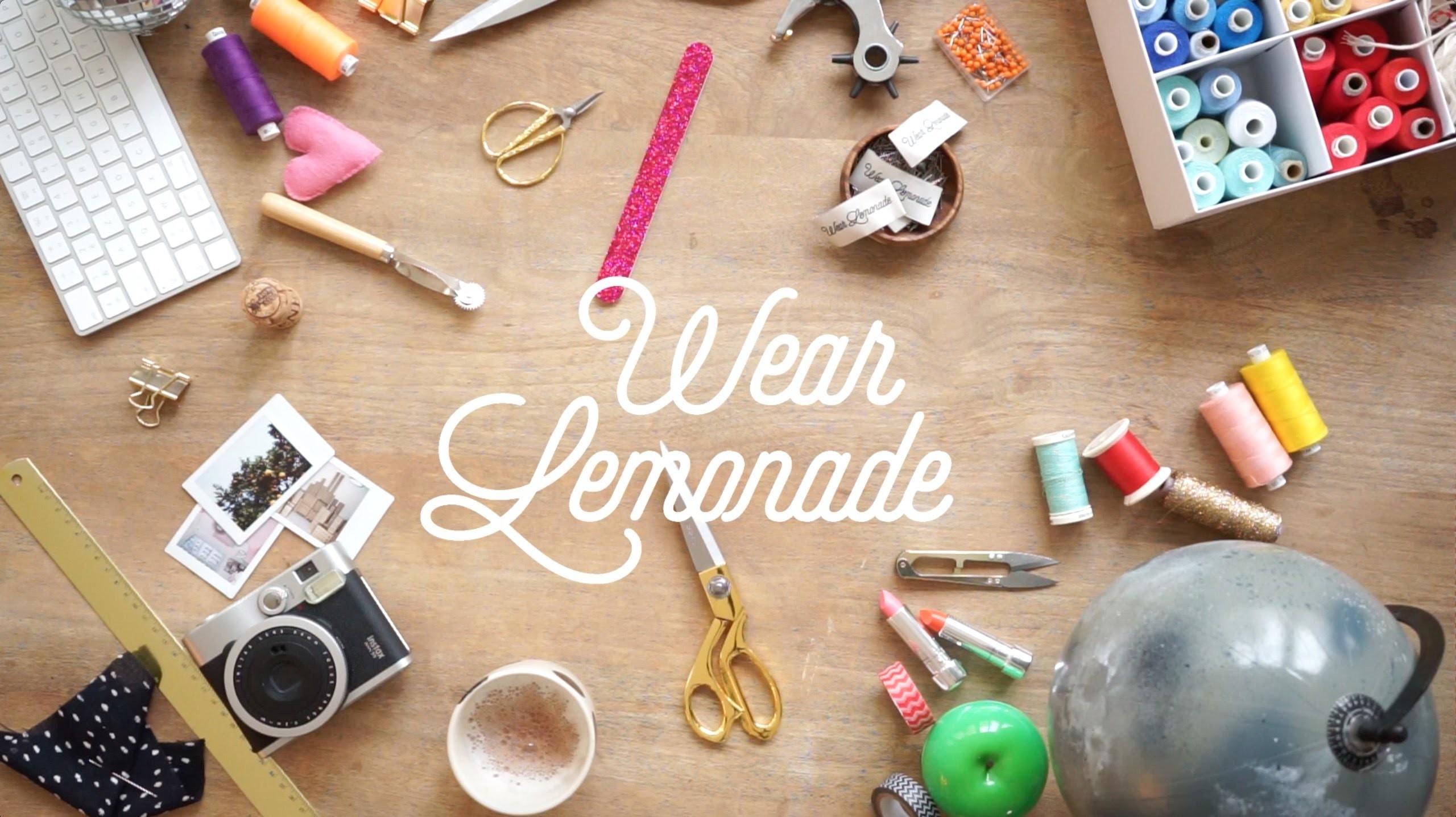 WEAR LEMONADE #15 DIY - Comment coudre la Jupe Lila