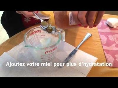 D.I.Y recette de savon personnalisée