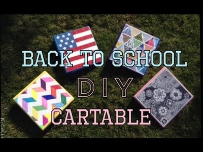 DIY Back To School 3 Idée De Cartable