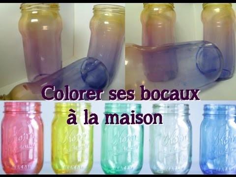 DIY Colorer ses bocaux ! #1 Qui fini mal.