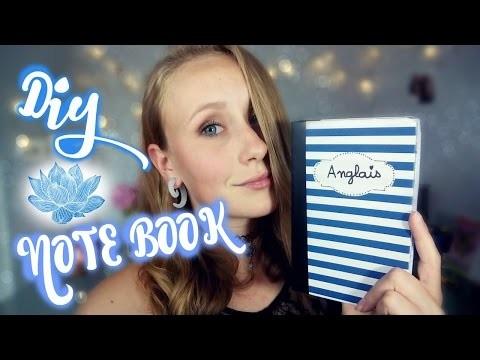 DIY NoteBook. Carnet de note - C'est Noëmie