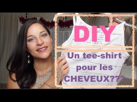 DIY: UN TEE-SHIRT POUR MESURER LA POUSSE DES CHEVEUX