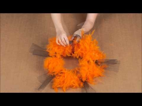 Tuto DIY 2. Halloween Tendance Orange