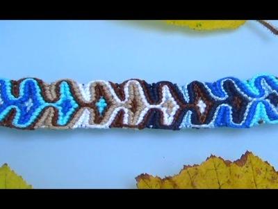 Bracelet Brésilien Sablier (Avancé)