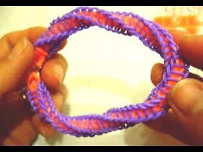 Bracelet en élastique torsade