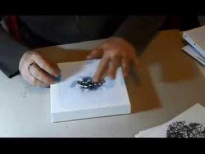 Comment transférer une image ou une photo sur une toile ?