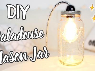 DIY. Lampe baladeuse Mason Jar