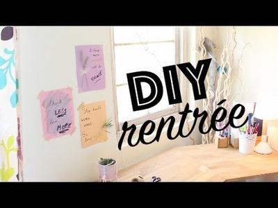 DIY pour la rentrée : 3 cartes inspirantes