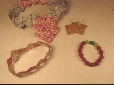 Fabriquer des bijoux en papier