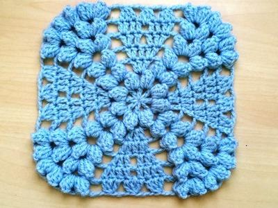 Magnifique granny au crochet. Precioso granny tejido a crochet