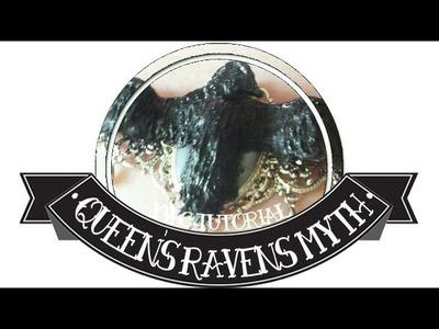 Mythologie Britannique : les corbeaux de la Reine l YWC polymer clay tutorial