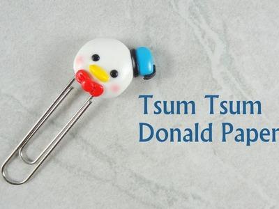 [Stop Motion] Tsum Tsum Donald Paperclip Tutorial. Tutoriel Fimo