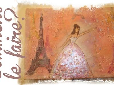 Tableau à réaliser sur le thème de Paris et sa Tour Eiffel