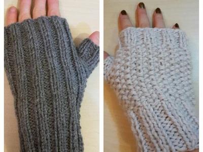 Tricoter des mitaines facile
