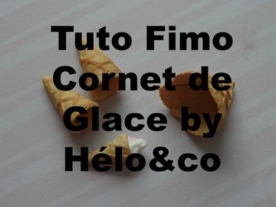 Tuto Fimo Cornet De Glace ♥