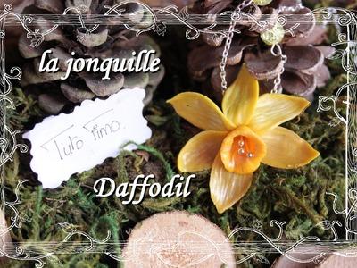 [♥✿ Tuto Fimo : Fleur Jonquille ✿♥] ~ [♥✿ Polymer Clay Tutorial : Flower Daffodil ✿♥]