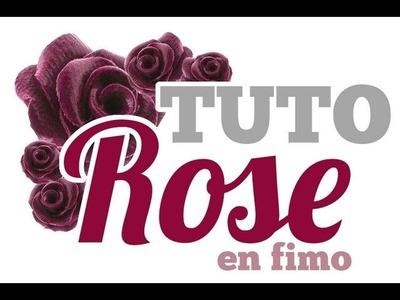 [TUTO] Rose en pâte polymère Fimo