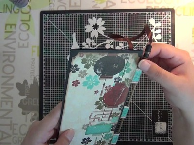 Tuto Scrap - Carte japonaise - part 3