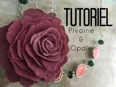 Tuto #44 : Pivoine & Opale - PARTENARIAT - FR.PandaHall.com -