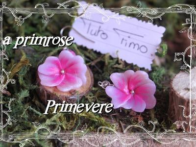 [♥✿ Tuto Fimo fleur primevère ✿♥] ~ [♥✿ Polymer Clay Tutorial : flower primerose ✿♥]