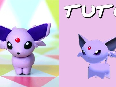 TUTO FIMO | Mentali. Espeon (de Pokémon Rumble World)
